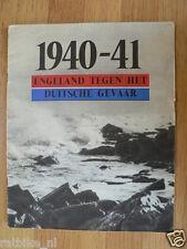 WW2 1940-41 ENGELAND TEGEN HET DUITSE GEVAAR,ENGLAND,GERMANY,CHURCHILL