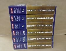 2017 Scott Worldwide Stamp Catalogues Complete Set Volumes 1 Thru 6