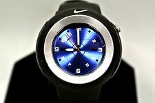 Nike  Sports WK0009 Black Rubber / Blue Face  Watch