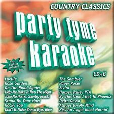 PARTY TYME KARAOKE-COUNTRY CLASSICS 1 CD NEW