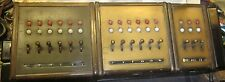 3 Western Electric 110 Type Telephone System's Key Boxes