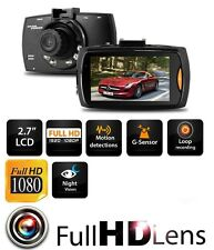 "Latest 1080P HD 2.7"" LCD Car DVR Camera Dash Cam Video Recorder Night Vision UK"
