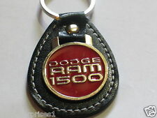Dodge Ram 1500 Leather Keychain Key Fob (#728) Made in the USA