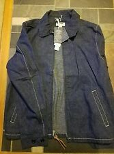 Wallace and Barnes Indigo Deck Jacket In Japanese Selvedge Denim Jacket, J Crew