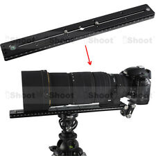 35cm Quick Release Plate f Camera Tripod Ball Head iShoot Telephoto Lens Support
