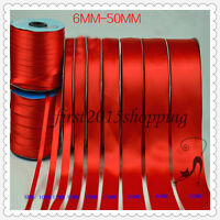 satin ribbon Big red polyester satin ribbon ribbon bows red ribbon long 3m 8m