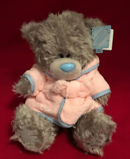 "ME TO YOU BEAR TATTY TEDDY 9"" PINK DRESSING GOWN BEDTIME PYJAMA BEAR PLUSH GIFT"