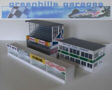 Greenhills Scalextric SLOT CAR edifici REIMS Starter Pack Kit scala 1:43 - Reggiseno