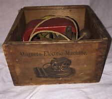 Antique Toy Magneto Electric Machine pat date April 27, 1897