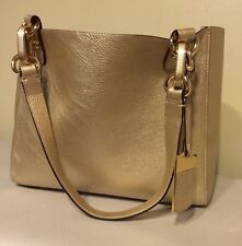 NWT* Ralph Lauren Handbag  Bembridge East West Tote GOLD NWT SMALL