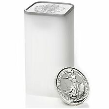 NEW! 2017 Great Britain Silver Britannia 1oz BU 25pc Tube