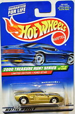 HOT WHEELS 2000 TREASURE HUNT SERIES LIMITED EDITION FORD GT-40