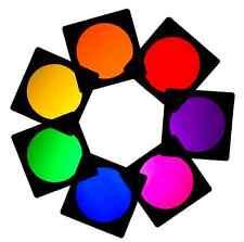 14 X PAR può 56 lungo luci FILTRO GEL DJ Discoteca TEATRO TV CLUB effetti di colore