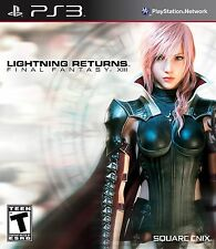 FINAL FANTASY XIII: LIGHTNING RETURNS (Sony PlayStation 3, 2014) RPG * Brand NEW