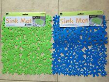 One pc Protective Kitchen Sink Mat Non-Slip Sink Mat 10 x 12