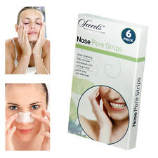 NOSE PORE STRIPS UNBLOCK PORES FRESHEN SKIN SPOT PREVENTION SMOOTHER SKIN