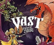 Vast: The Crystal Caverns Board Game, 2016 Strategy, 1-5 Players NEW but DAMAGED