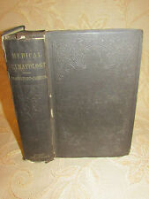 Antique Book Of Medical Climatology, By R. E. Scoresby - Jackson - 1862