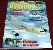 Aviation News 2008 February Blackswift,Hellenic Air Force,India