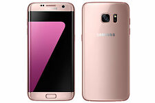 "New Imported Samsung Galaxy S7 Edge Duos 32GB 4GB 12MP 5.5"" 4G LTE Pink Gold"