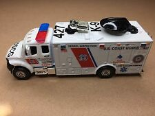 MATCHBOX POLICE COAST GUARD VESSEL SAFETY K-9  FREIGHTLINER KITBASH CUSTOM UNIT