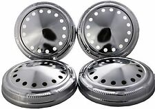shSet of 4 Hubcap fit for Mopar Police Dog Dish Hub Caps Dodge Plymouth