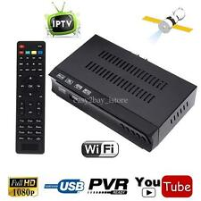 HD DVB S2 Digital Satellite IPTV Combo Receiver Decoder Set Top Box PVR IKS OTT