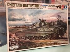 tamiya 1/25 dtw108 British army 46ton Medium Chieftain battle tank motorised kit