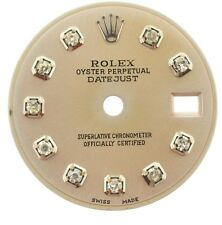 Rolex original lady 26mm dial, datejust model, added custom diamonds