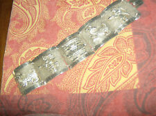 Vintage Mexican Sterling Silver Cuff Bracelet - Heavy