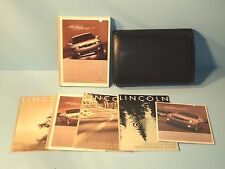 03 2003 Lincoln LS owners manual