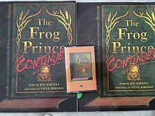 SCHOLASTIC Book Tape THE FROG PRINCE Kindergarten 1st LISTENING CENTER 2 Books
