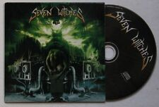 Seven Witches Amped Advance Cardcover CD 2005 Metal