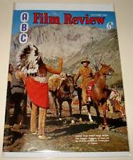 ABC FILM REVIEW MAGAZINE October 1964  VG/FN  HOW THE WEST WAS WON Cover