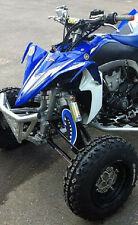 ATV,SHOCK COVER,PROTECTEUR D'AMORTISSEUR,VTT,YAMAHA,SUZUKI,MONSTER BLUE,