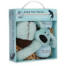 Dog is Good Play the Field 4-Piece Toy Gift Packs - Tennis Balls, Plush Toy