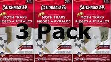 6 Catchmaster 812SD MOTH TRAPS for Indian Meal Moth Pantry Pest 3 pack of 2 each