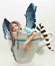 Amy Brown I Need Coffee Sleepy Faery Statue Fairy Sculpture Sweet Addictions
