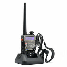 Nouveau Baofeng UV-5R Plus Dual-Band 136-174/400-520 MHz FM Radio Talkie Walkie