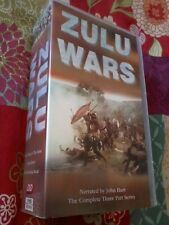 ZULU WARS Complete series narrated by John Hurt 2 VHS PAL UK Videos POST FREE