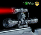 Opticfire TX-38 T38 XPE RED zoom scope gun light lamping hunting air rifle torch