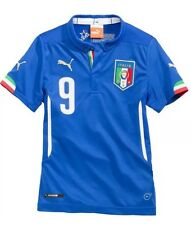 New Puma Italy Mario Balotelli Kids Home Jersey