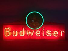 "Rare Vintage Anheuser Busch "" Budweiser King of Beers "" Neon Light Sign 1994"