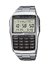 Casio Men S Databank Watch Dbc32d-1A With Calculator Water Resistant Stainless
