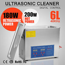 6L Ultraschallreinigungsgerät Ultraschallreiniger 380W Ultraschall NOVEL DESIGN