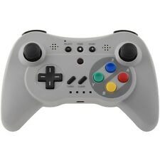 TRIPLE FUNCTION BLUETOOTH WIRELESS PRO CONTROLLER GRIGIO PER WII U %15405