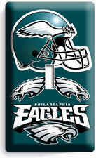 PHILADELPHIA EAGLES FOOTBALL SINGLE LIGHT SWITCH WALL PLATE BOYS ROOM MAN CAVE