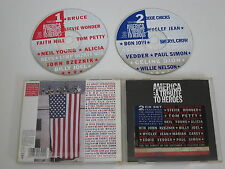 VARIOUS ARTISTS/AMERICA/A TRIBUTE TO HEROES(COLUMBIA 505394-2) 2XCD ALBUM