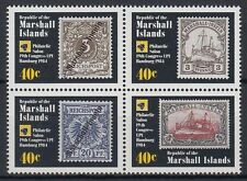 Marshall Islands 1984 ** Mi.15/18 WPV UPU Postal Union Congress [st1507]