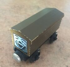 1992 Wooden Thomas Train Brown Roof White Face Troublesome Breakvan!